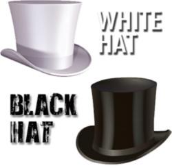 белые шапки, черные шапки