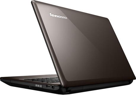 Lenovo G585 – вид сбоку